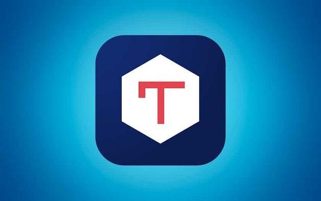 Le logo de Tchap, l'application de messagerie de
