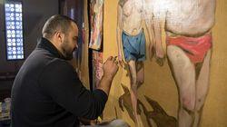 Marrakech: Mohamed Saïd Chair,PoesetSkunkdog explorent la monumentalité pour l'exposition