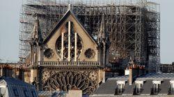 Notre Dame será protegida con una gran lona a modo de paraguas para evitar nuevos