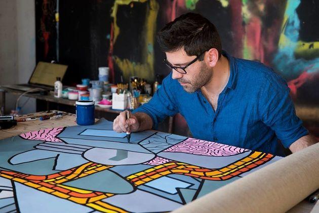 Marrakech: Mohamed Saïd Chair,PoesetSkunkdog explorent la monumentalité pour la 3e édition de l'exposition