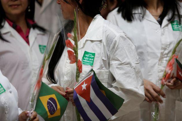 Médicos cubanos deixaram o programa em 2018, após o regime da ilha entrar em embate com...