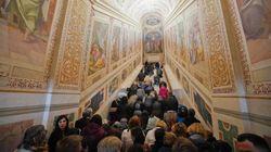Στα «Ιερά Σκαλιά» της Ρώμης πρώτη φορά μετά από 300