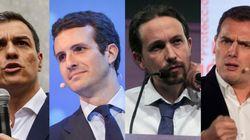 Los cuatro candidatos confirman a RTVE su asistencia al debate del lunes