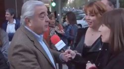 """″¡Qué cagadón!"""": esta reportera se cuela donde no debía para hacer una encuesta"""