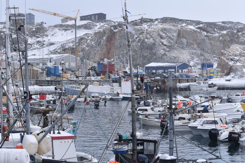 Το Λιμάνι του Ilulussat είναι...