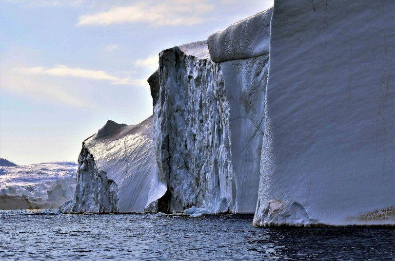 Οι επιβλητικοί πάγοι...