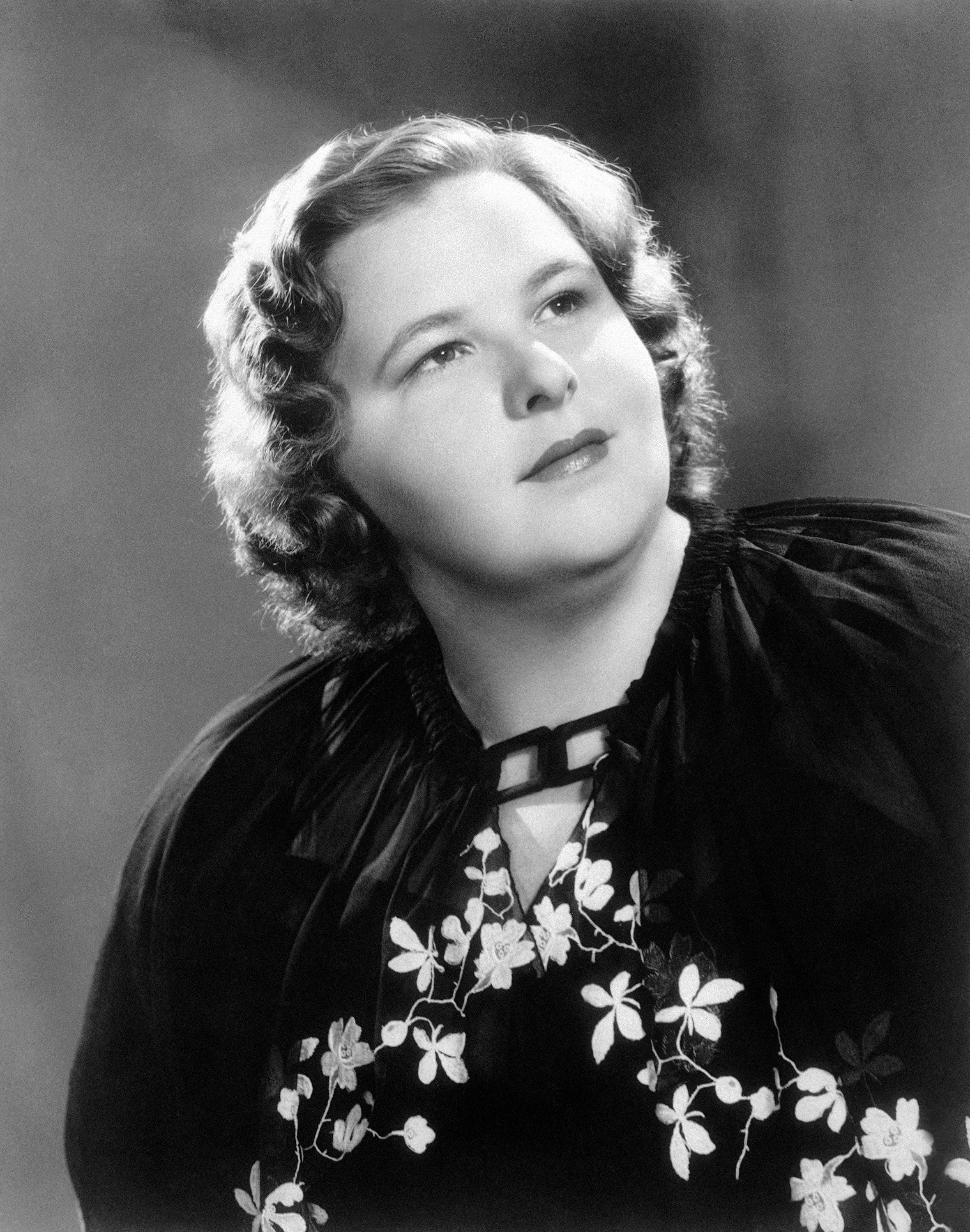 American singer Kate Smith poses in this undated photo.