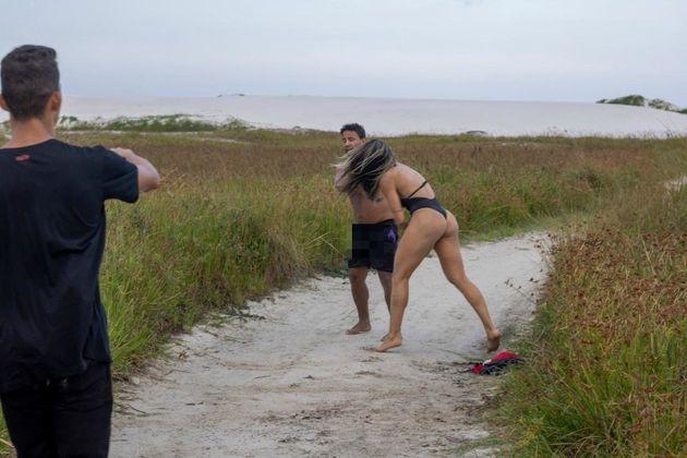 Una luchadora de 27 años da una paliza a un hombre que se masturbaba