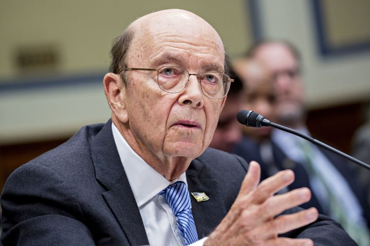 Commerce Secretary Wilbur Ross said he decided to add a citizenship question to the census after the Justice Department reque