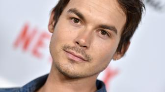 HOLLYWOOD, CALIFORNIA - JANUARY 28: Tyler Blackburn arrives at the Los Angeles premiere screening of 'Velvet Buzzsaw' at American Cinematheque's Egyptian Theatre on January 28, 2019 in Hollywood, California. (Photo by Axelle/Bauer-Griffin/FilmMagic)