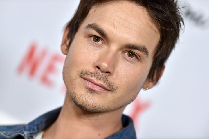 "Actor Tyler Blackburn says he initially felt pressure to adhere to ""gay"" or ""straight"" labels, even though he identified with"