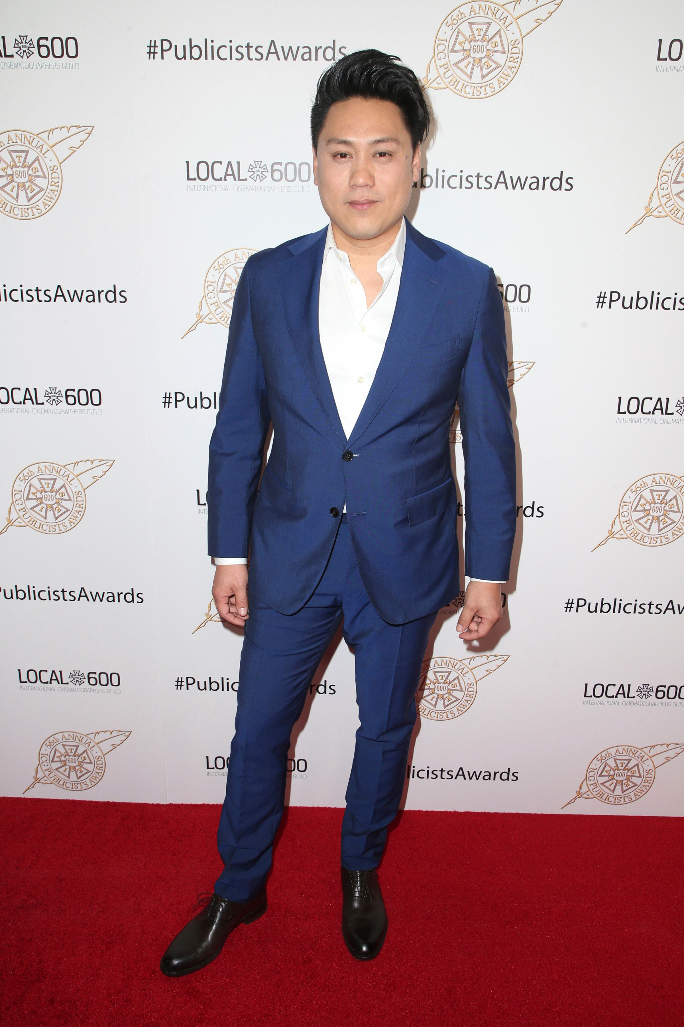 BEVERLY HILLS, CA - FEBRUARY 22: Jon M. Chu at the 56th Annual International Cinematographers Guild at the Beverly Hilton Hotel in Beverly Hills, California on February 22, 2019. Credit: Faye Sadou/MediaPunch /IPX