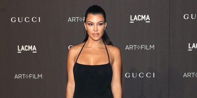 Kourtney Kardashian attends the 2018 LACMA Art+Film Gala at LACMA on November 3, 2018, in Los