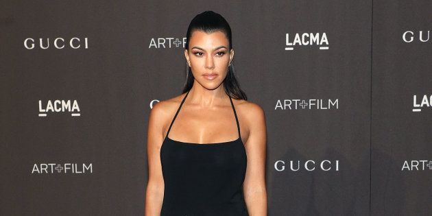 Kourtney Kardashian attends the 2018 LACMA Art+Film Gala at LACMA on November 3, 2018, in Los Angeles.