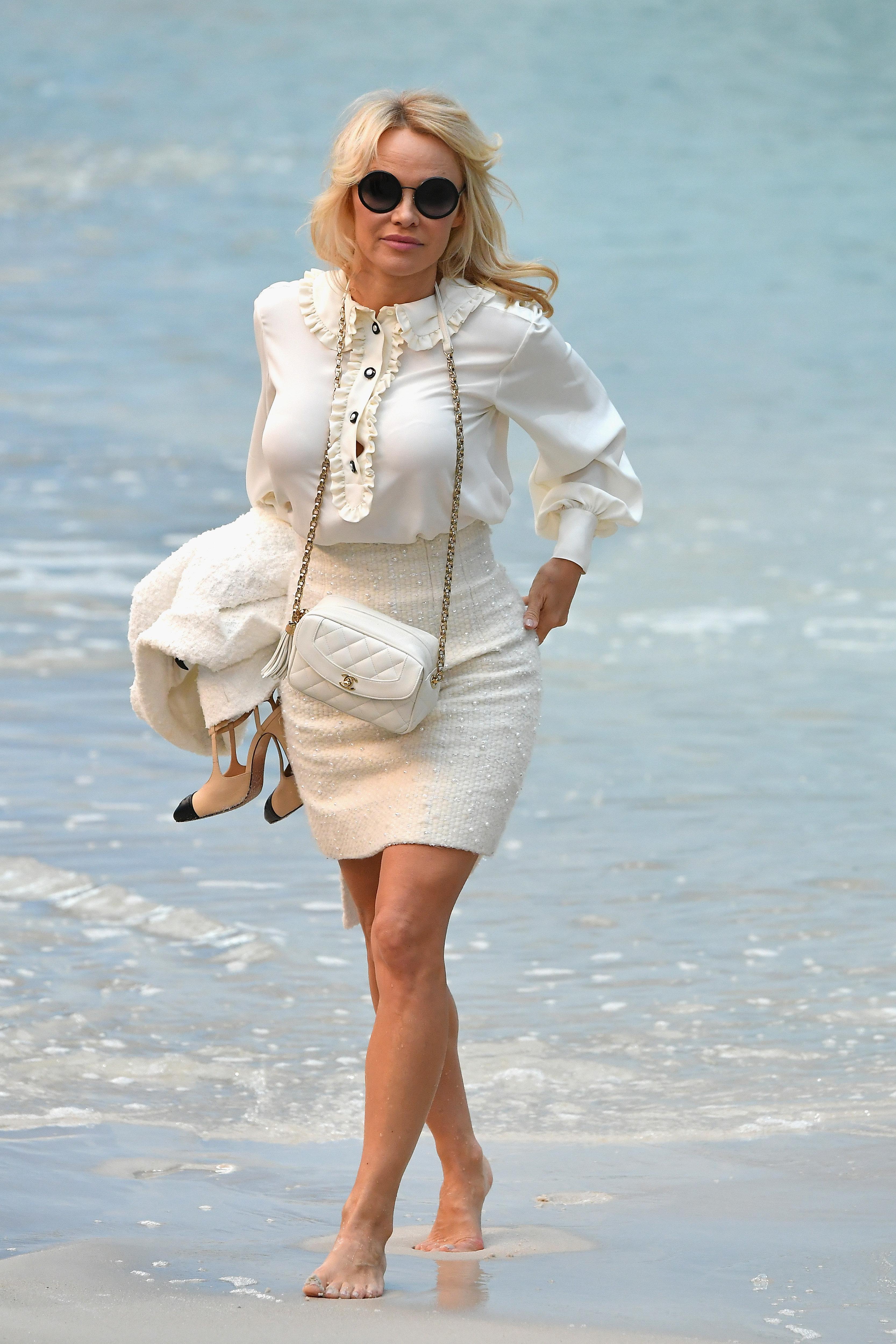 Pamela Anderson dénonce les dons des milliardaires pour