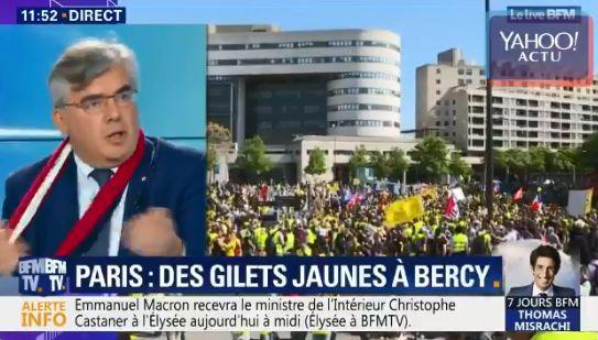 """Un député LREM traite Jérôme Rodrigues de """"débile profond"""" en plein"""