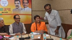 BJP's Pragya, Who Claimed To Have Cursed Karkare, Demands