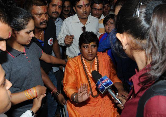BJP's Pragya, Who Claimed To Have Cursed Karkare, Demands