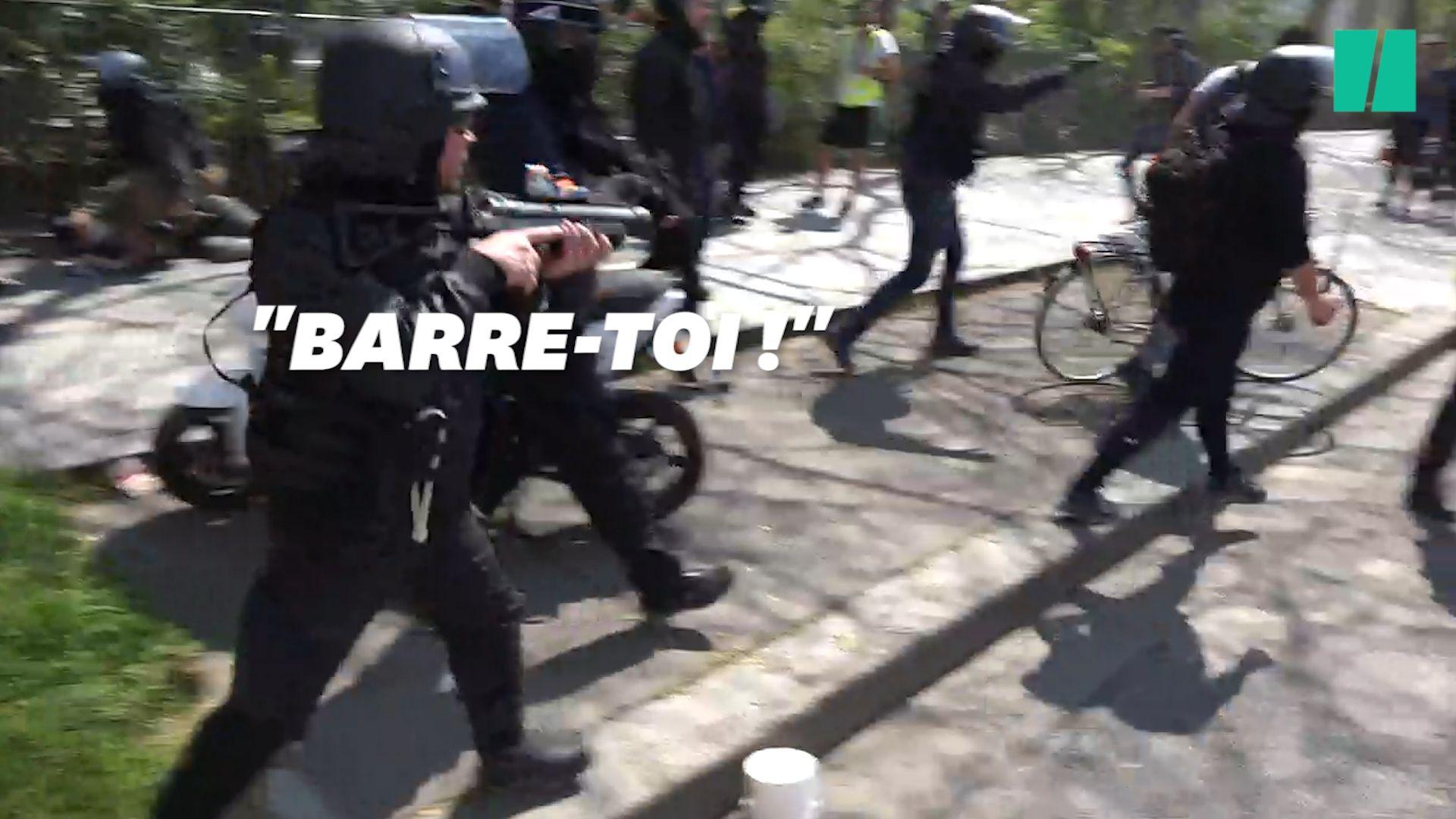 La situation s'est tendue à Paris, près de la place de la