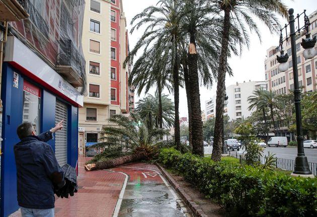 El temporal en Murcia y la Comunidad Valenciana deja las peores lluvias en abril en 50