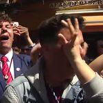 Los protagonistas del vídeo viral de Semana Santa muestran su gran enfado en 'Viva la