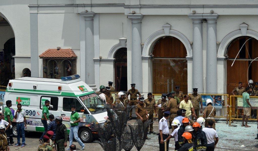 Huit explosions au Sri Lanka dans des hôtels et églises, au moins 200 morts et 450