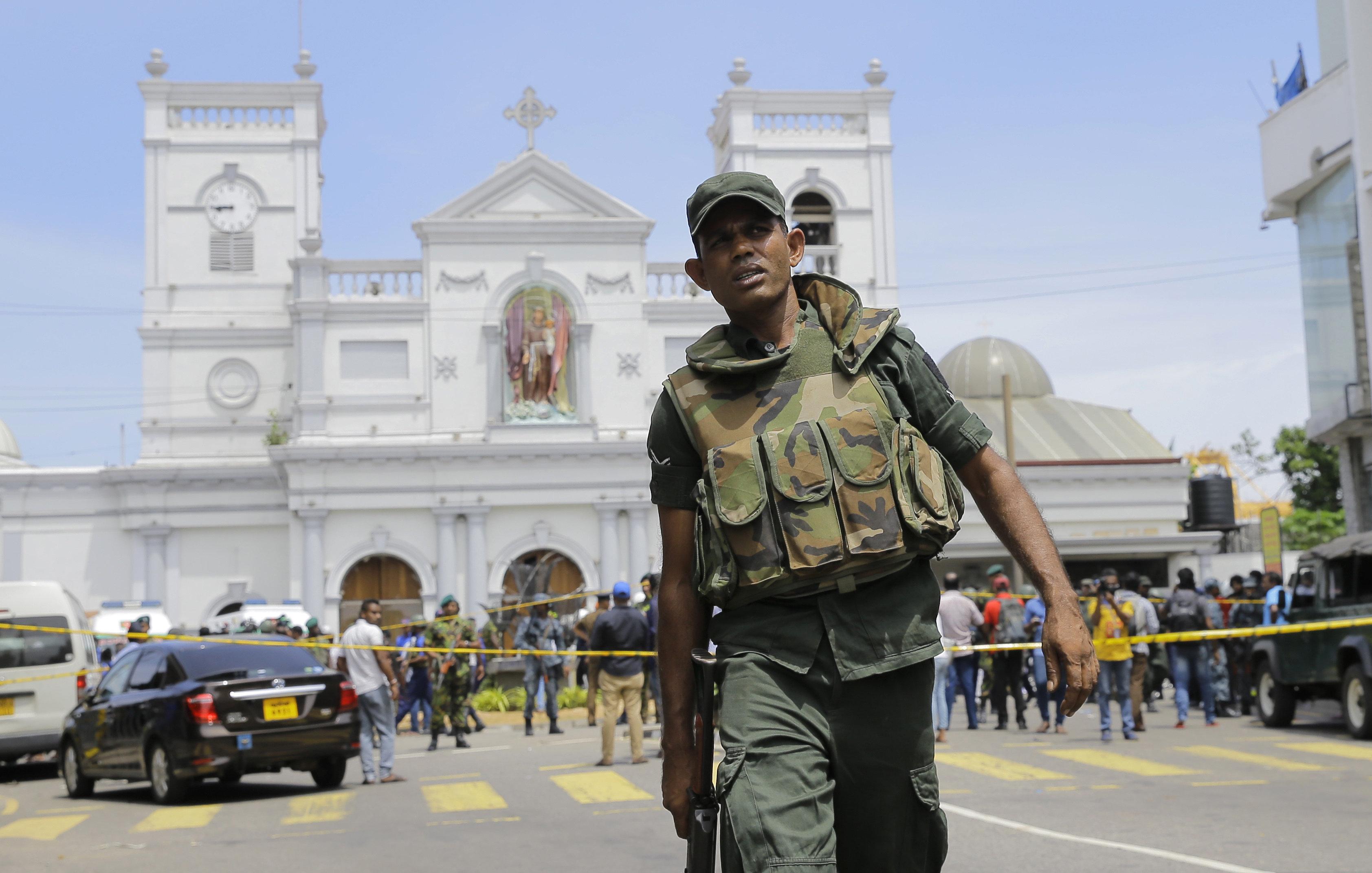 피의 부활절 참사 : 스리랑카 교회·호텔 연쇄