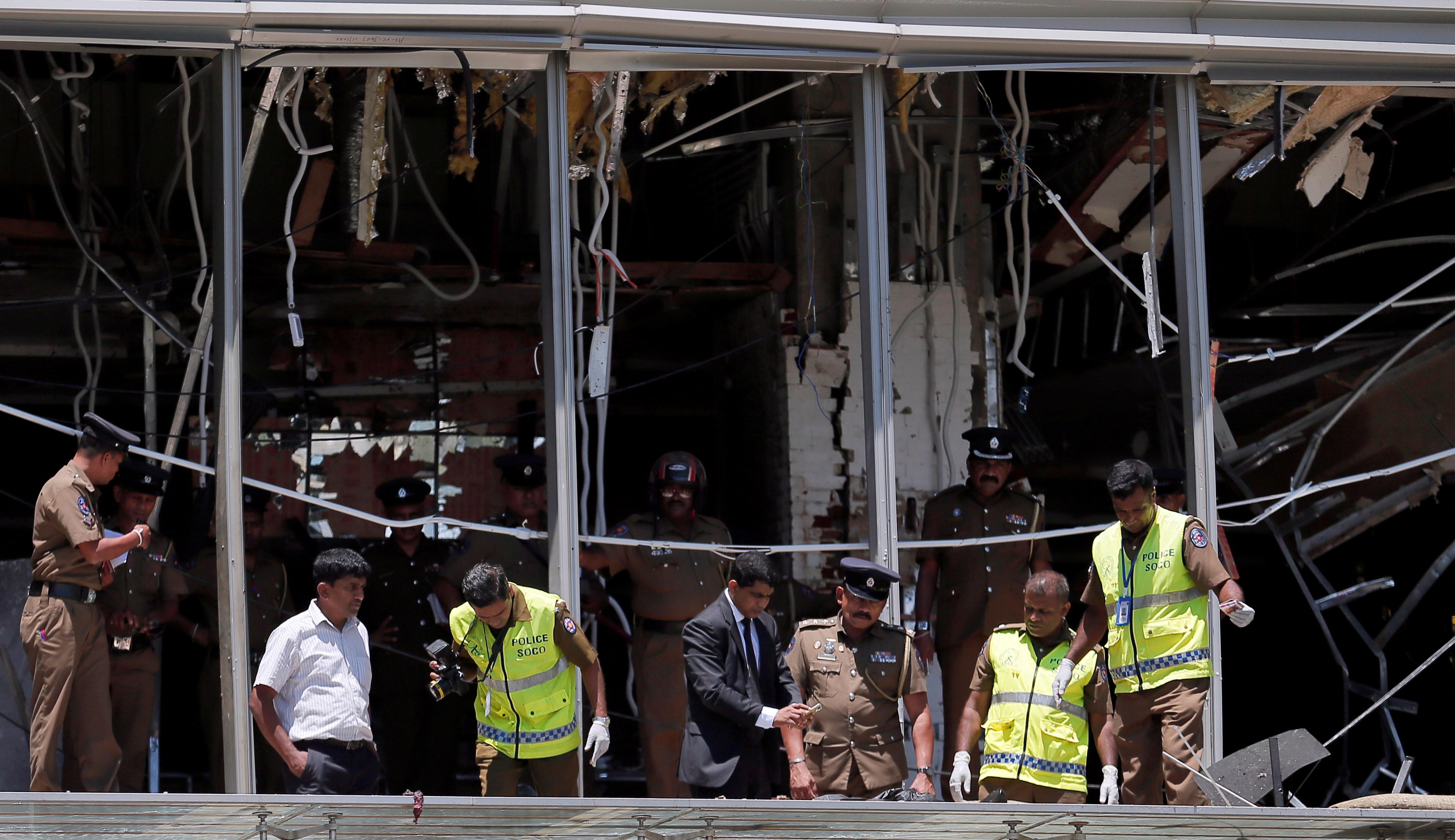 Attentats au Sri Lanka: quels églises et hôtels ont été pris pour