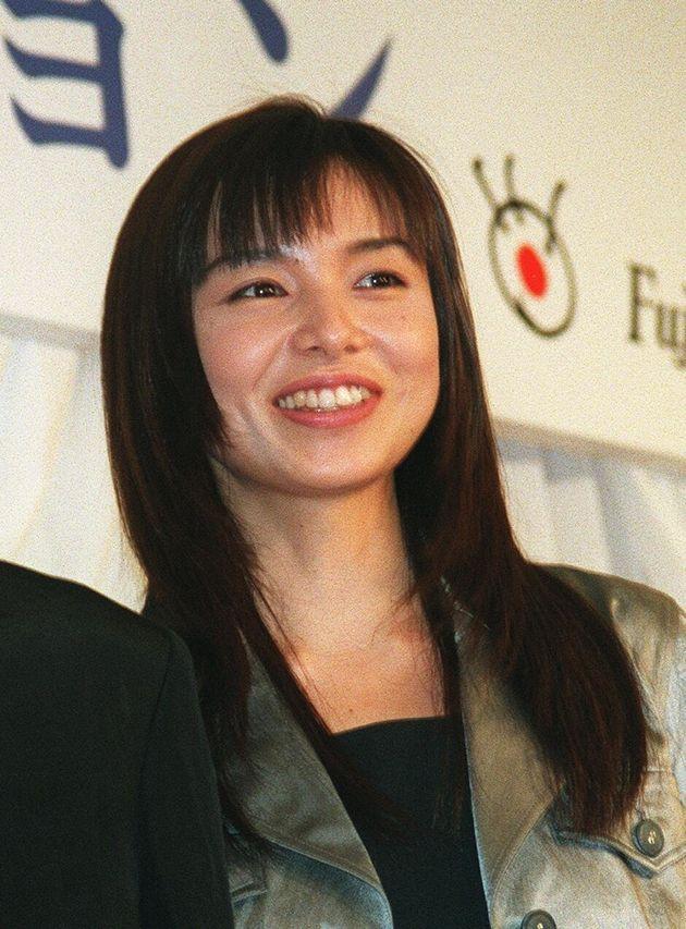 山口智子さん(1996年2月29日撮影)