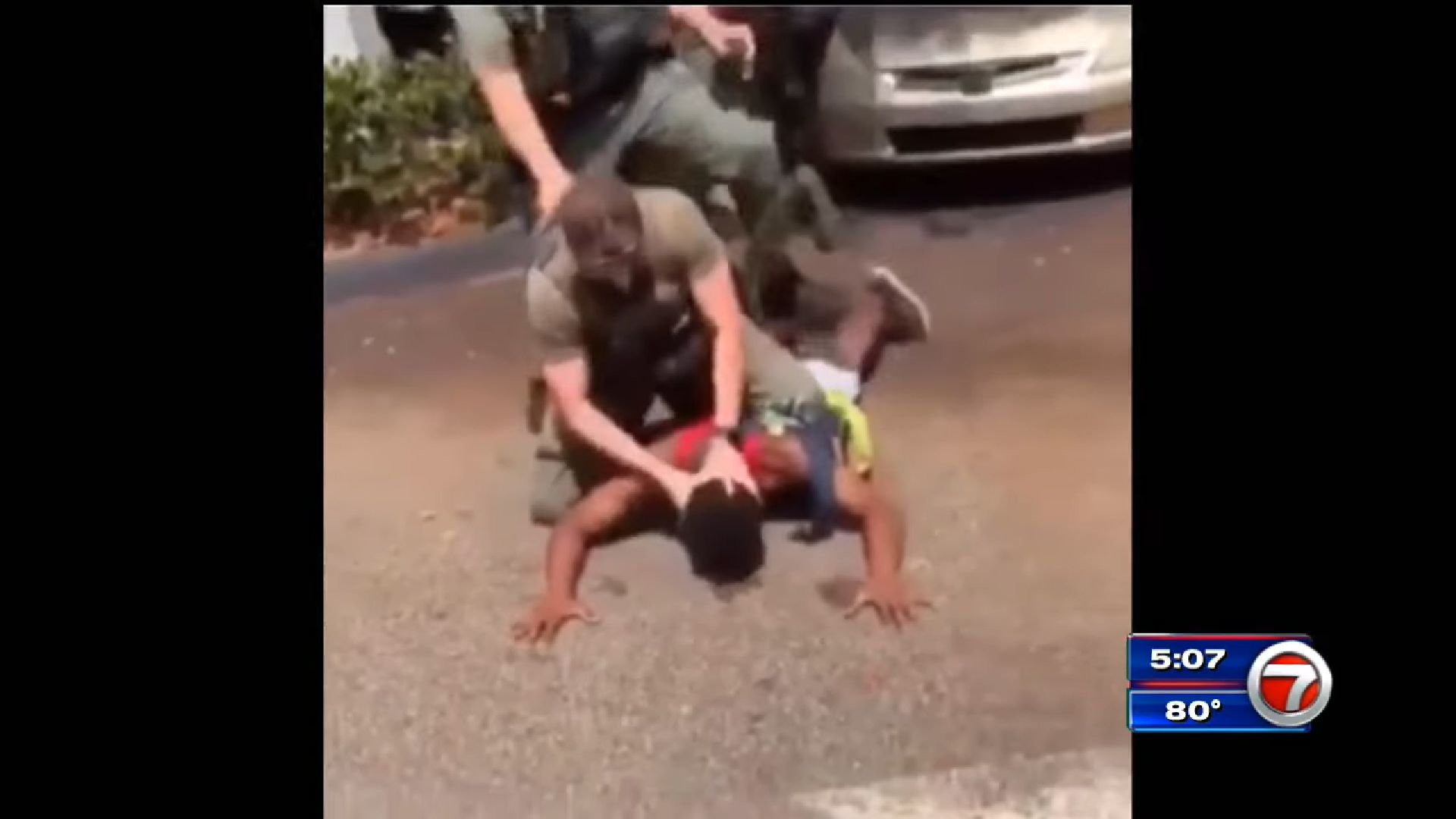 Teen pepper sprayed by Broward County deputy