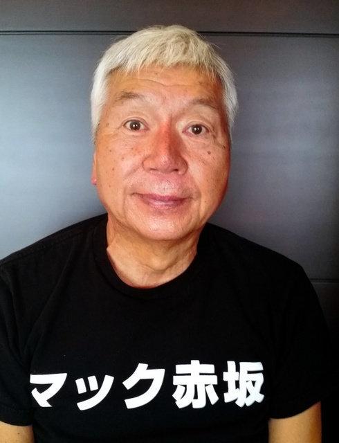マック赤坂氏、港区議選に初当選 奇抜な政見放送で話題