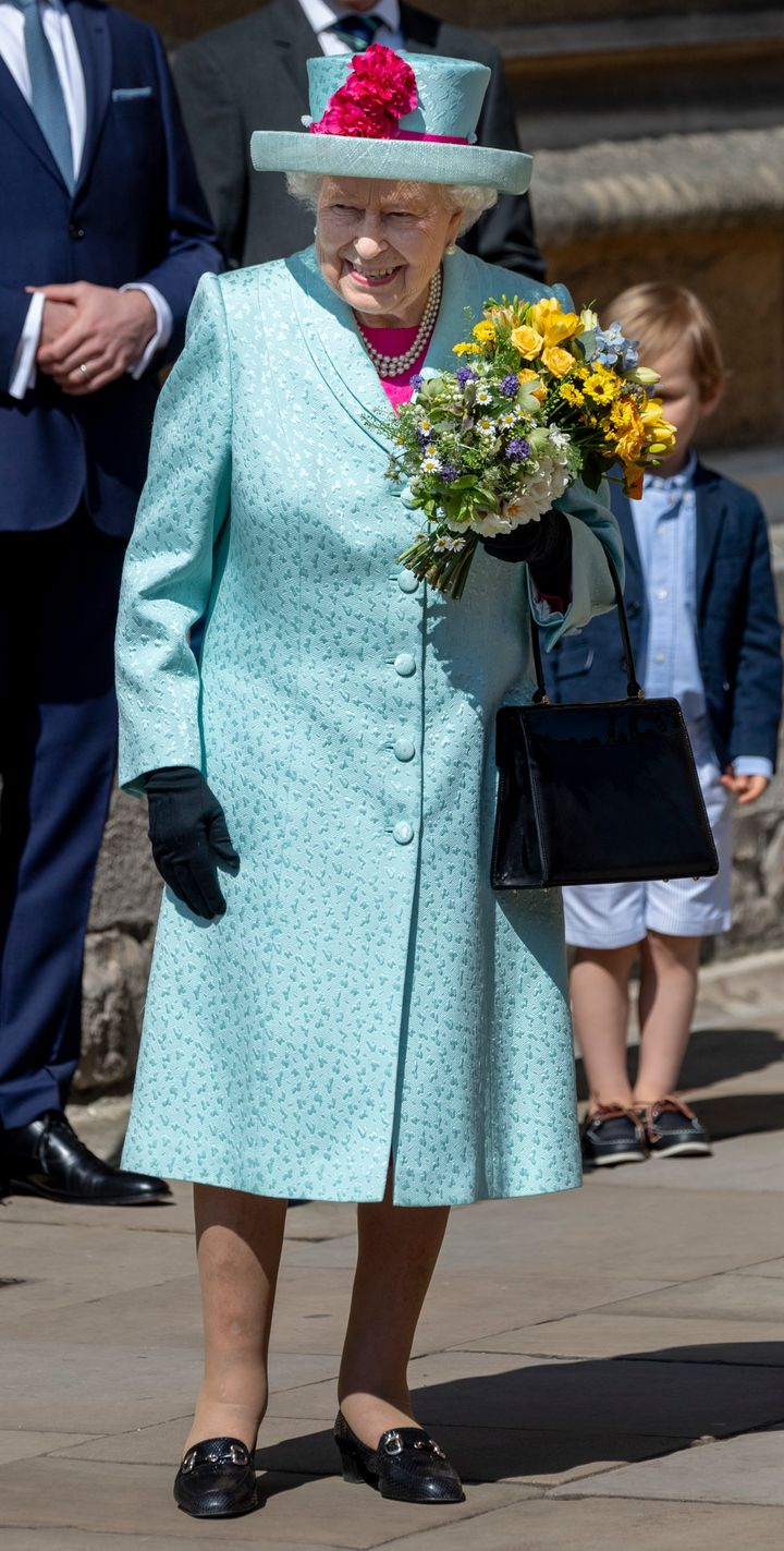 The queen celebrated her 93rd birthday on Sunday.
