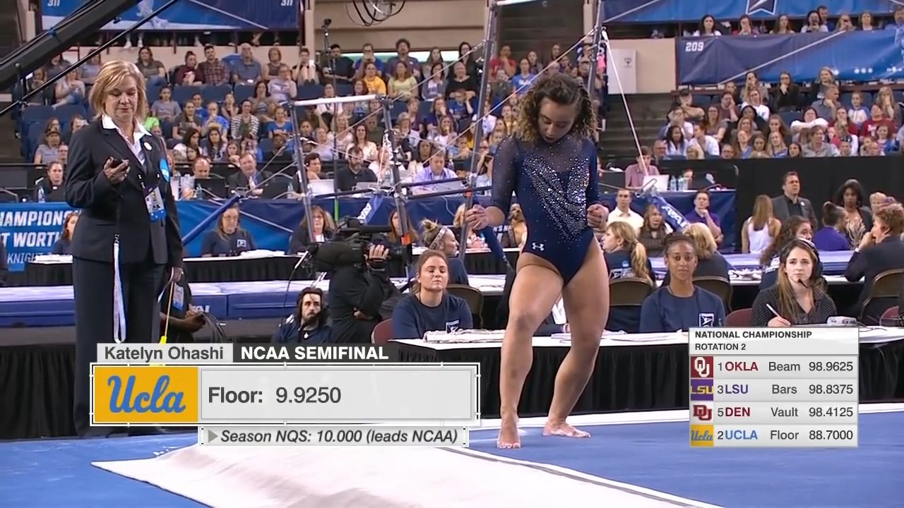L'ultime performance de cette gymnaste star avant sa retraite a soufflé le