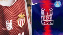 Des maillots hommages à Notre-Dame pour