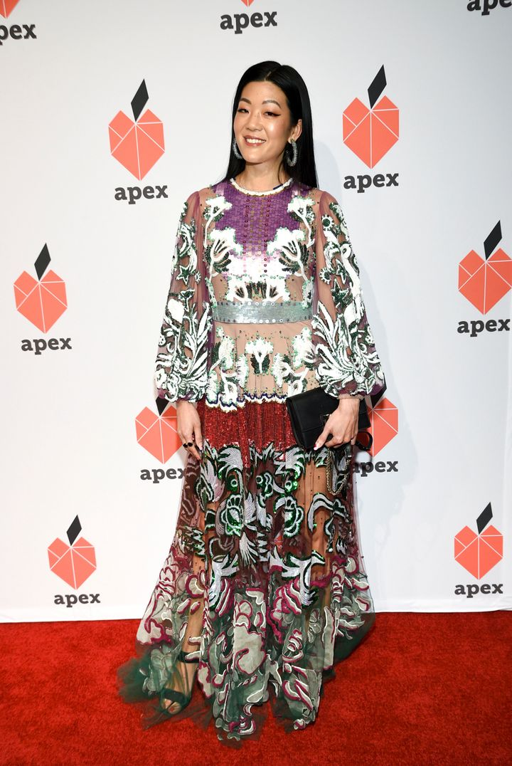 Allure Editor-in-Chief Michelle Lee attends the Apex for Youth 27th annual Inspiration Awards gala at Cipriani Wall Street on