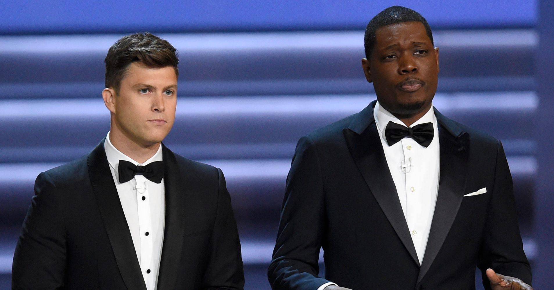 Westlake Legal Group 5cbce8262300007d006db741 Michael Che Berates Culture Writer For Mocking 'SNL' Co-Star Colin Jost