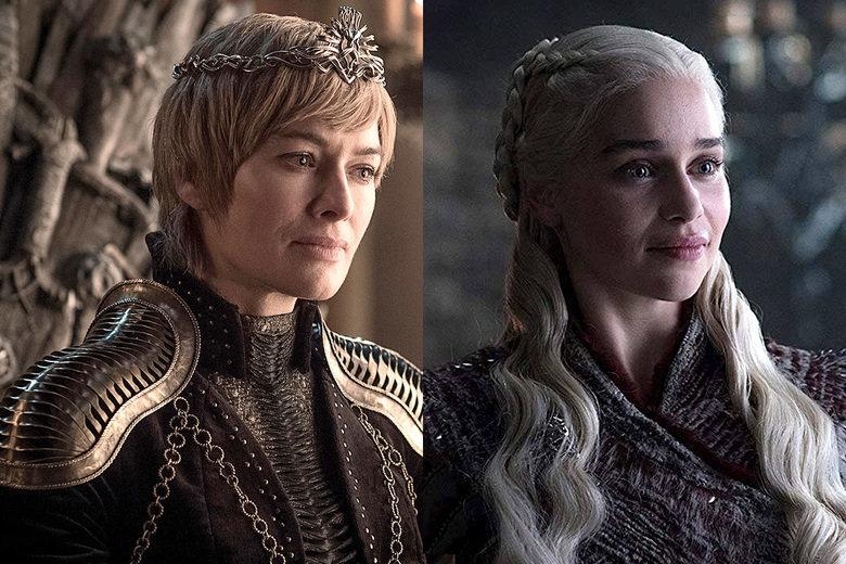 Cersei Lannister y Daenerys