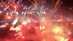 Les images impressionnantes de la célébration du titre du PAOK
