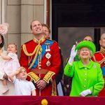 엘리자베스 여왕의 93세 생일 사진에는 메건 마클이