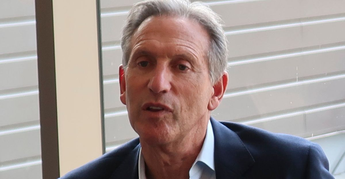 Howard Schultz Roasted On Twitter Over Weird New Campaign Ad thumbnail