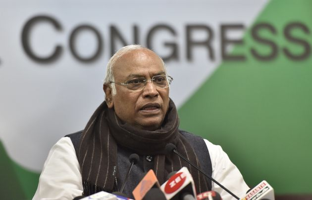 Image result for mallikarjun kharge
