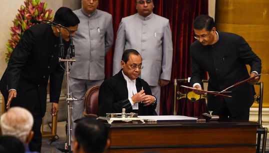 CJI Gogoi Can't Hide Behind SC To Answer Sexual Harassment
