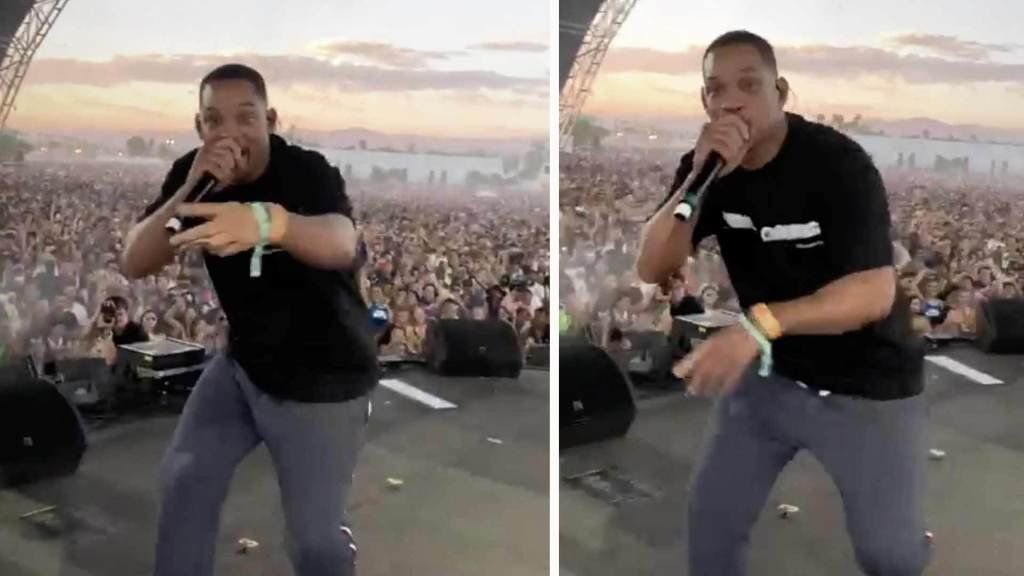 """<p>Will Smith made a surprise visit to the desert and performed at Coachella during his son's set. The """"Bad Boys For Life"""" star stepped onto the stage to perform """"Icon"""" with Jaden on Friday to kick off the second weekend. Smith shared a video showing him spitting rhymes with the 20-year-old while the crowd went […]</p> <p>The post <a rel=""""nofollow"""" rel=""""nofollow"""" href=""""https://theblast.com/will-smith-coachella-performance-jaden/"""">Will Smith Makes Surprise Performance at Coachella</a> appeared first on <a rel=""""nofollow"""" rel=""""nofollow"""" href=""""https://theblast.com"""">The Blast</a>.</p>"""