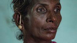 인도 농촌을 덮친 '5도의
