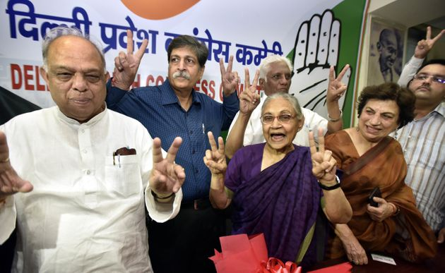 Congress Fields Sheila Dikshit From North East Delhi, Ajay Maken From New