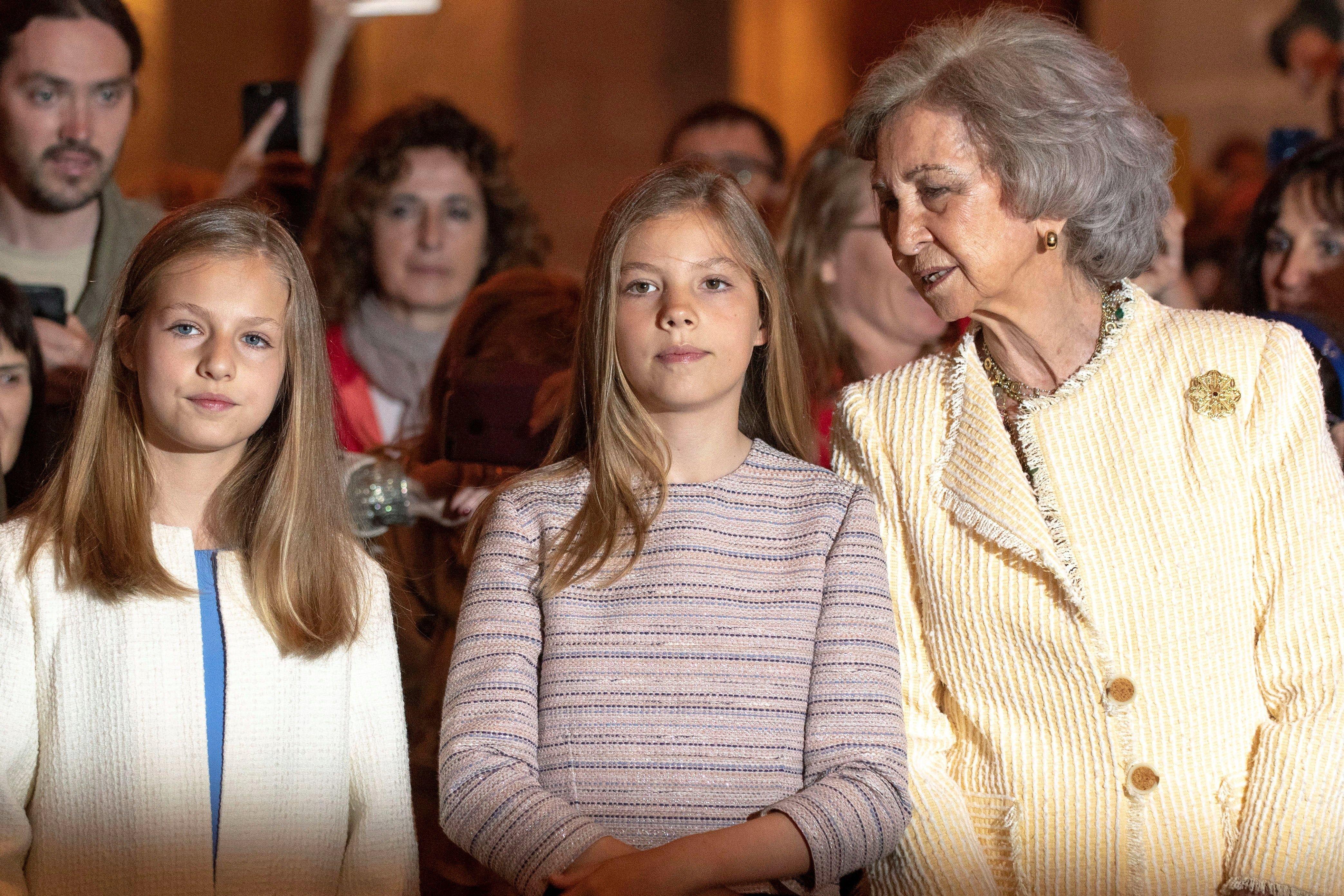 De reina a infanta: la foto de Sofía que está generando muchas