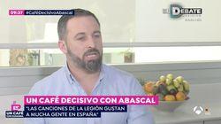 Santiago Abascal asegura en 'Espejo Público' que le gustaría que se cantara 'El novio de la muerte' en las