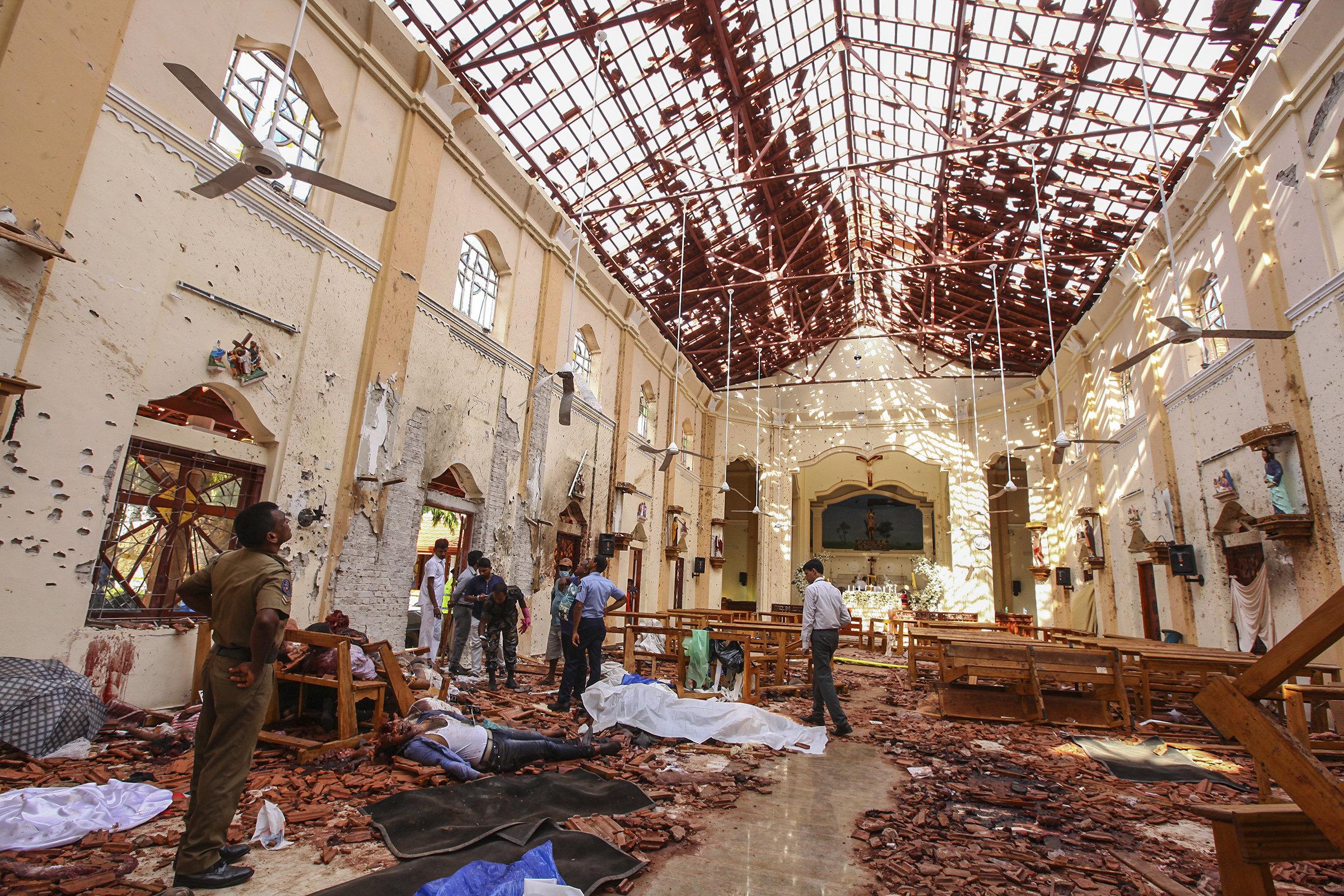 International Network Involved In Deadly Sri ...