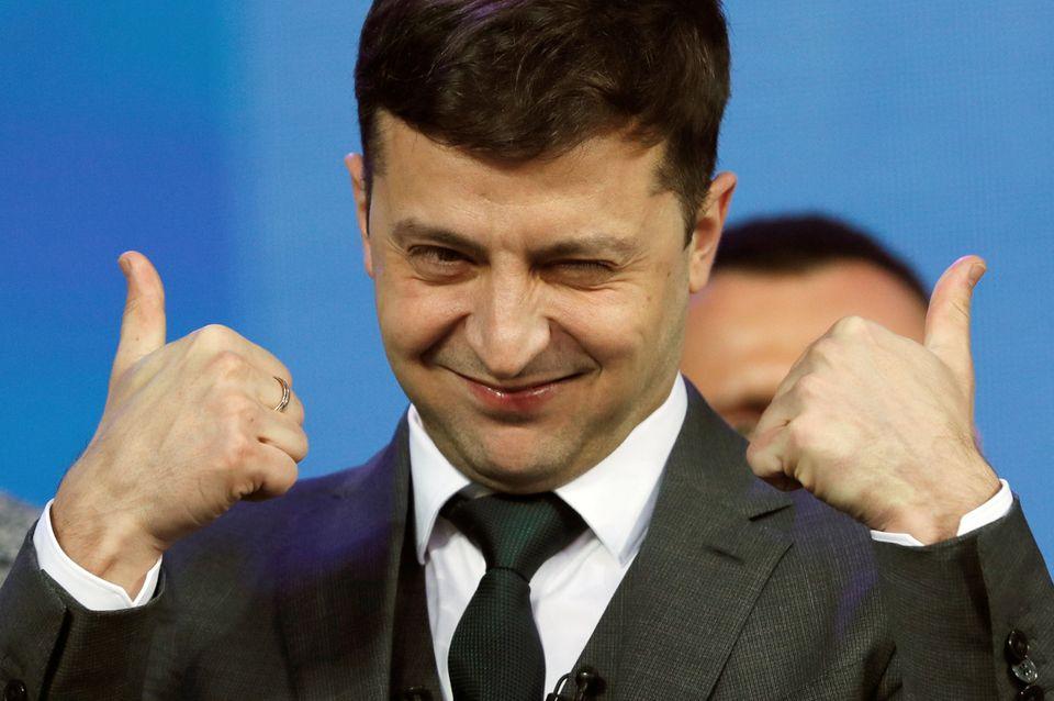 드라마에서 대통령을 연기했던 젤렌스키가 우크라이나 대통령이