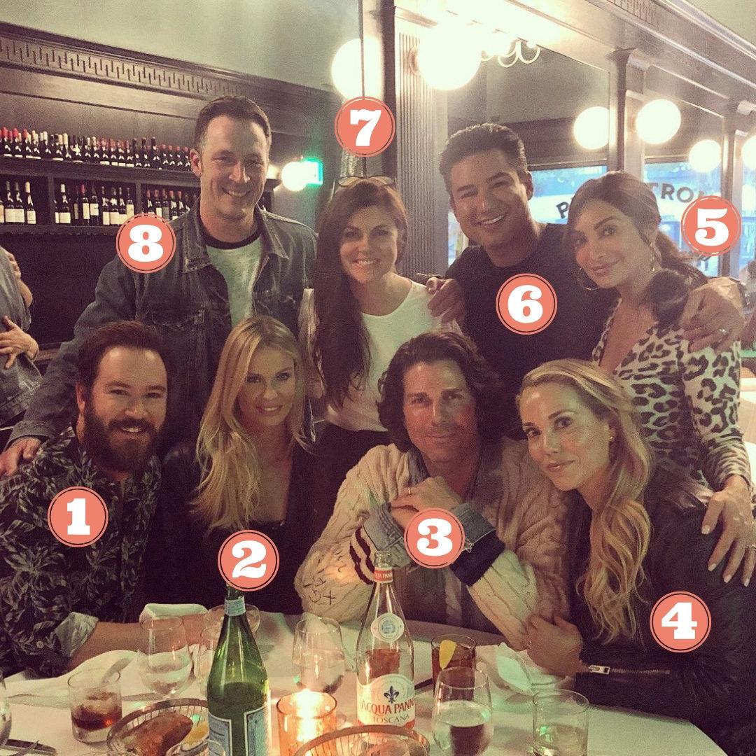 Quiénes son los otros cuatro de la foto de los actores de 'Salvados por la